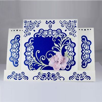 Fanciful Filigree Metal Cutting Dies Stencils Scrapbooking Paper Cards Crafts