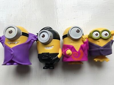 Mcdonalds Happy Meal Toys, Minions