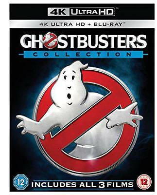 Ghostbusters - 1-3 Collection (6-Disc 4K Ultra HD + Blu-ray) [2016], DVD, New, F