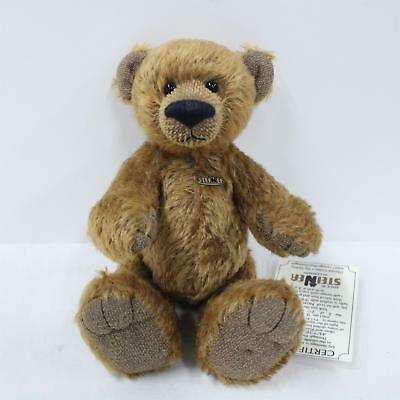 "Genuine 2004 Steiner 9"" Mohair Teddy Bear With Certificate #452"