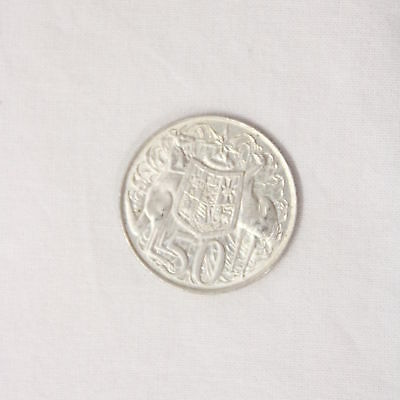 Collectable 1966 Round Australian 50 Cent Coin #452