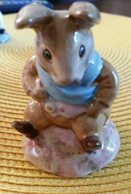 Beatrix Potter Peter Rabbit Series Beswick England Old Mr. Bouncer Figurine