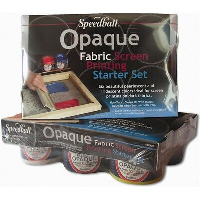 Speedball Opaque Fabric Screen Printing Starter Kit-