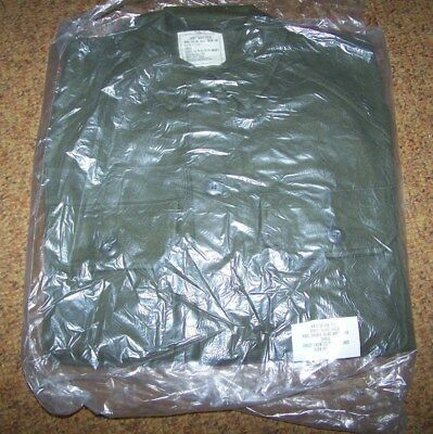 M-1951 Wool Shirt, Od Green, Size Small, U.s. Issue *new*