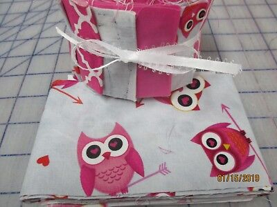 Adorable Hoo Loves You Baby Quilt Kit-Jelly Roll Fabric,Patt.