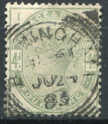 (312) VERY GOOD LIGHTLY USED SG192 QV 4d DULL GREEN