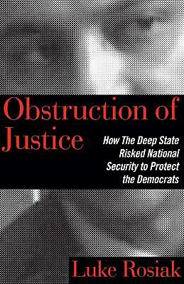 Obstruction of Justice by Luke Rosiak Hardcover Book Free Shipping!