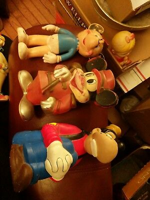 3- Vintage The Sun Rubber Co. Walt Disney Productions Mickey Mouse Doll goofy