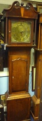 Very Nice Antique Longcase Clock By Naftel Guernsey In Full Working Order