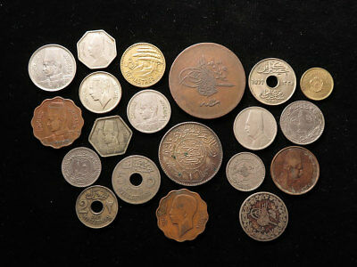 Collection of 32x Islamic & Middle-Eastern Coins