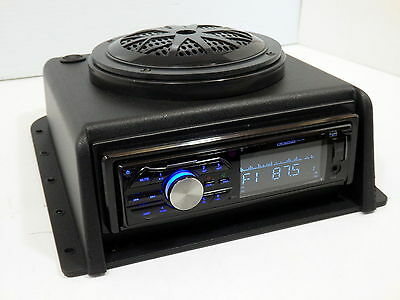 Tractor Truck Heavy Equipment Dash Mount Bluetooth Radio Stereo 28