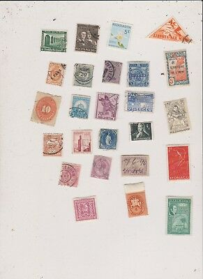 25 Mixed Worldwide  Stamps Lot Z28