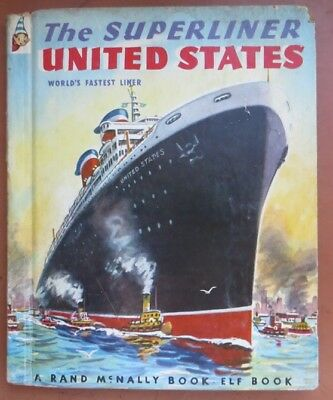 SS UNITED STATES Scarce Children's Book