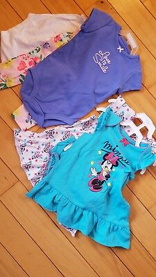 Nwt baby girl 6 piece lot outfits sets Carter's Disney Minnie Mouse brand new