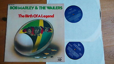 BOB MARLEY AND THE WAILERS - The Birth Of A Legend (US 1976 2LP MINT)