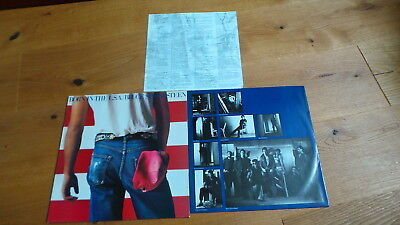 BRUCE SPRINGSTEEN - Bon in the USA (D 1984 CBS Rec. + all Inserts) THE BOSS