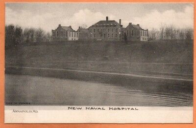 MD Maryland Annapolis New Naval Hospital Anne Arundel County Postcard