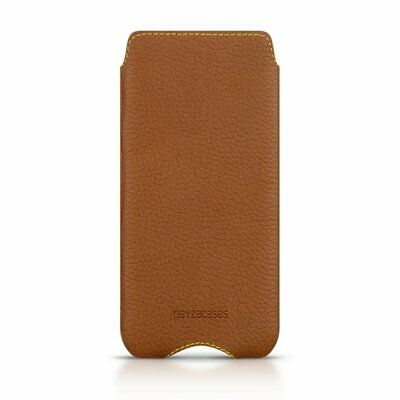 Beyzacases Genuine Leather Zero Case for Sony Xperia Z5 Compact - Tan