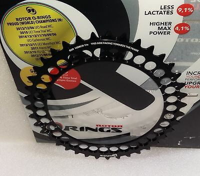 Rotor Q Ring Oval 11 Speed Chainring 39T BCD 130mm Inner Road Chainring