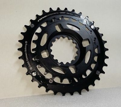 E Thirteen  TRS, TRSR and TRS+ Chainring Direct Mount 34/24t ShiftRings Set  E13