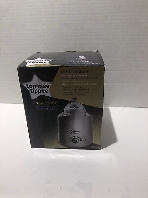 Tommee Tippee Closer to Nature Electric Bottle & Food Warmer OPEN BOX #1420