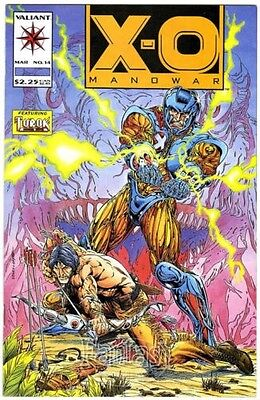 X-O Manowar #14 (1993) NM+ 9.6 Vaillant Bd
