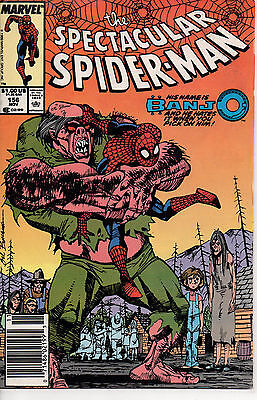 The Spectacular Spider-Man #156 - Marvel - NM - Gratuit S & Hauteur