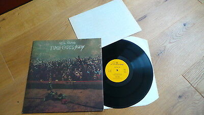 NEIL YOUNG - Time Fades Away (UK 1973 Reprise rough Cover + Foldout Insert) MINT