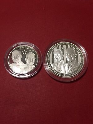 2013 Proof 5-Star General Half Dollar & Silver Dollar Commemorative Coin ONLY