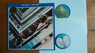 THE BEATLES - 1967 - 1970 (D FoC  2LP Apple 1C 188-05-05309/10) Das BLAUE ALBUM