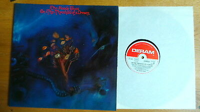 THE MOODY BLUES - On The Threshold Of A Dream (D 1969 Deram FoC Booklet) BEAT