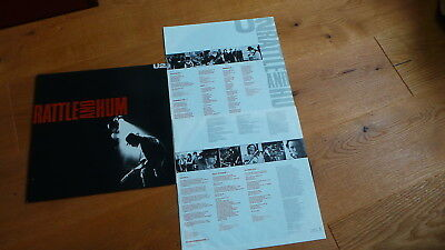 U2 - Rattle and Hum (D 1983 2LP Island 303 399 Insert FoC ) TOP CONDITION