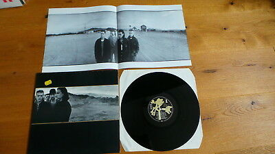U2 - The Joshua Tree (D 1987 Island FoC MINI POSTER- Insert) BONO