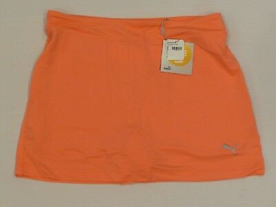 New Girls' Puma Solid Knit Skirt, Size Large, Nrgy Peach