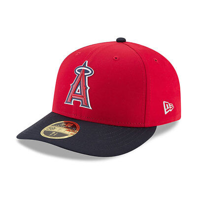 LA Angels New Era Low Profile MLB Prolight Fitted Cap Size - 7 3/8