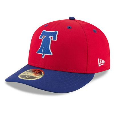 Philadelphia Phillies New Era Low Profile MLB Prolight Fitted Cap Size - 7 3/8