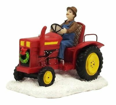 "St Nicholas Square Village ""tractor"" Farmer Farming  New * Free Shipping"