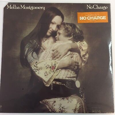 "Melba Montgomery ""No Charge"" Vintage Lp - 12"" Factory Sealed"