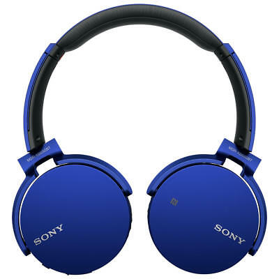 Sony MDR-XB650BT Extra Bass On-Ear Headphones With Bluetooth - Blue (635673)