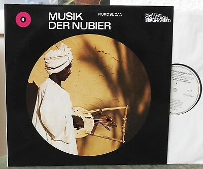 MUSIK DER NUBIER  Nordsudan  2 Lps  Museum Collection Berlin   Grateful Dead