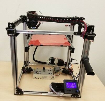 New Moebot 3D Printer 300x300x270 W/Raspberry Pi Octopi Wireless PLA/ABS