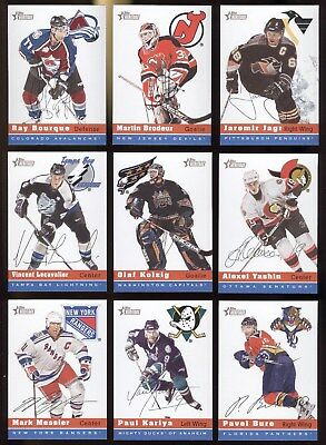 2000-01 Topps Heritage Nhl Hockey Card 1 To 153 See List