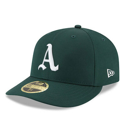 Oakland Athletics New Era Low Profile MLB Prolight Fitted Cap Size - 7 3/8