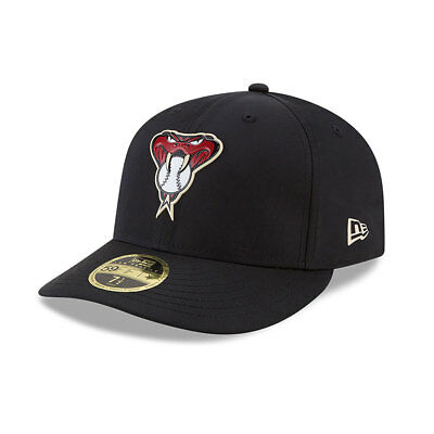Arizona Diamondbacks New Era Low Profile MLB Prolight Fitted Cap Size - 7 3/8