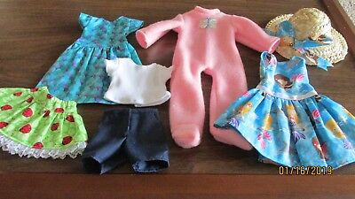 Lot of 4 Outfits, 14 Inch Dolls, Such as Wellie Wishers by American Girl