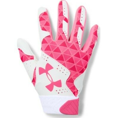 Under Armour Radar Womens Batting Gloves 1299550 - WH/CER - S