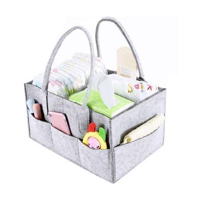Baby Portable Nappy Caddy Organizer Tote Bag Large Capacity bathroom Storage