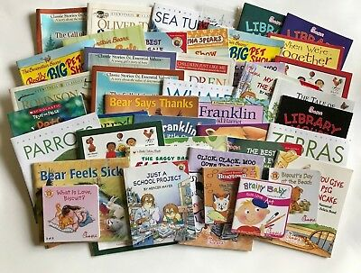 Lot of 41 Childrens Chick Fil A Books Bear Nature Franklin Animals I spy more!