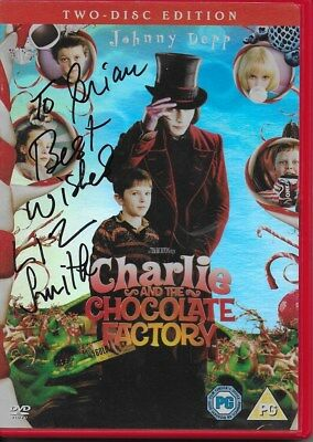 CHARLIE and the CHOCOLATE FACTORY personally signed DVD cover - LIZ SMITH