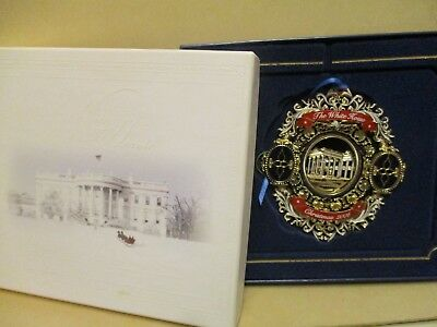 White House Christmas ornament 2006 in box